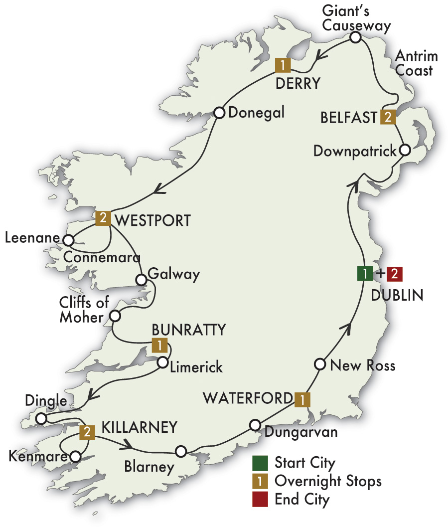 Irish Classic Tour